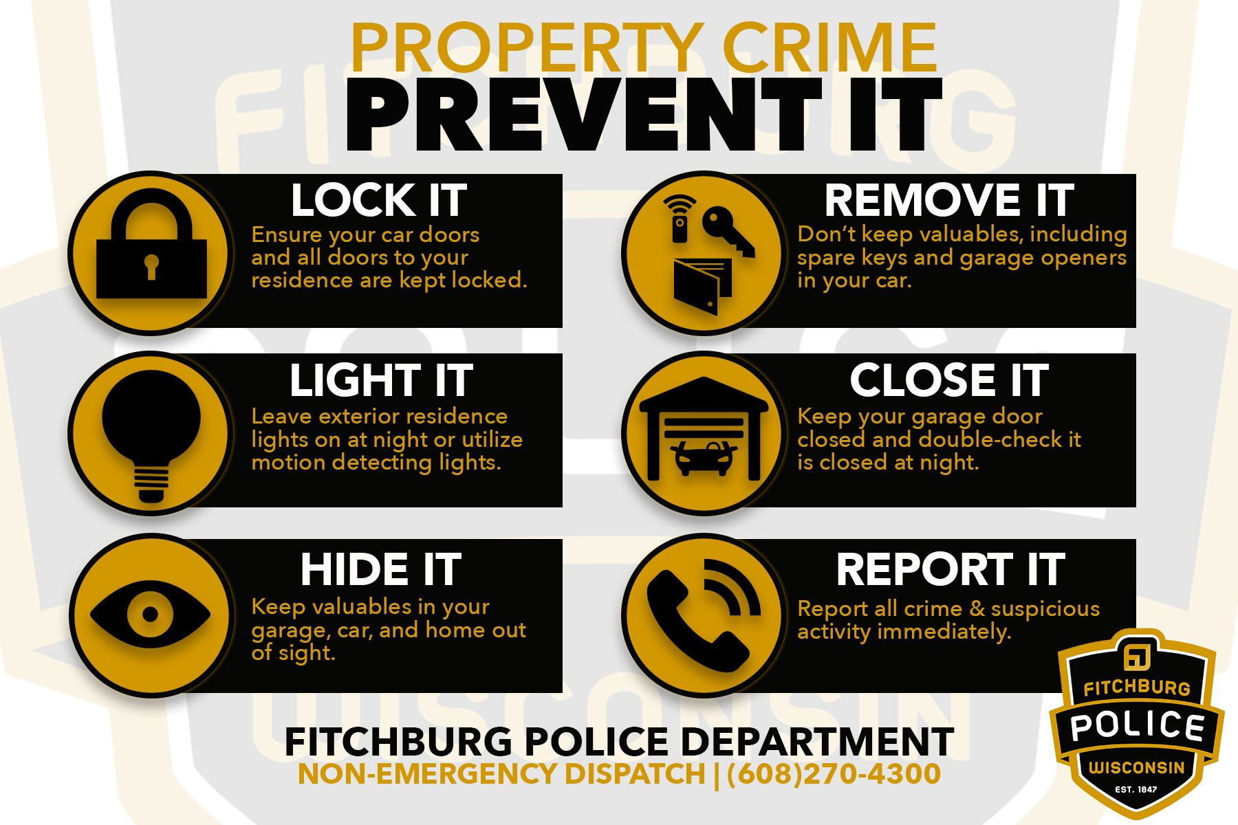 property crime fpd