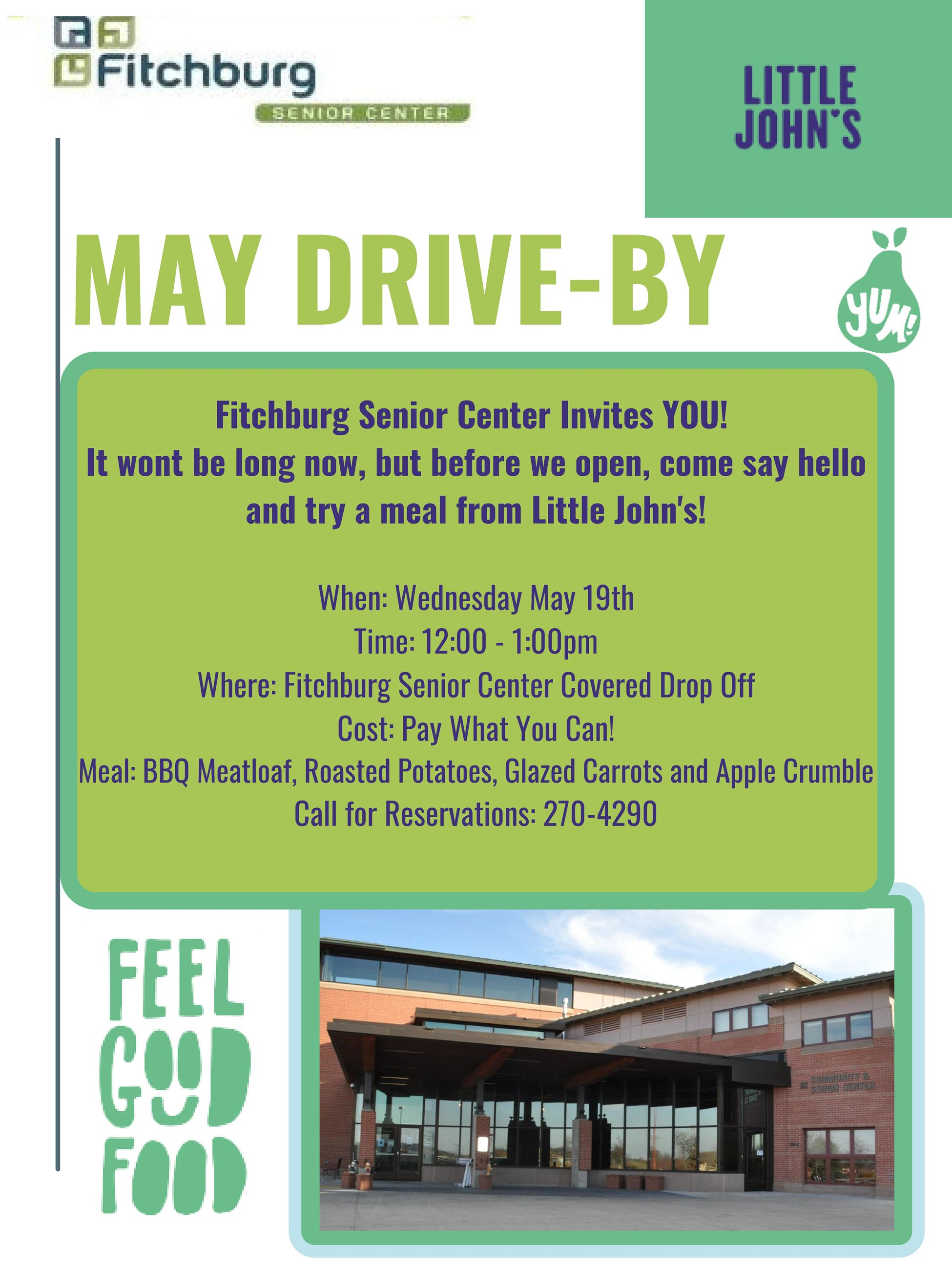 Fitchburg Senior Center May Event