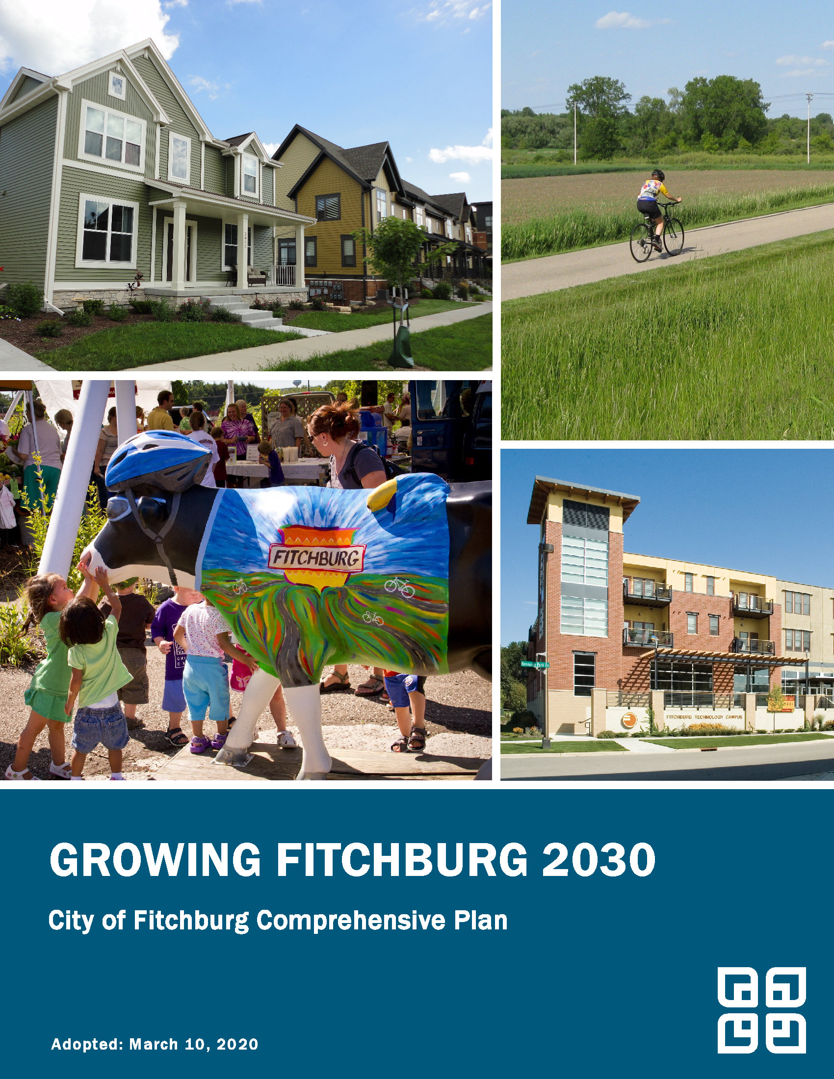 Growing Fitchburg 2030, Cover Image